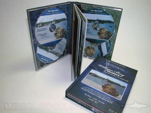 custom multidisc dvd hard bound book packaging double disc trays